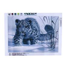 DIY Snow Leopard Diamond Painting Cross Stitch Mosaic Living Room Decor Gift S