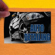 Decal Sticker Auto Detailing #1 Style D Automotive Auto Detailing Store Sign