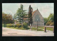 Yorkshire Yorks LANGTON Church pre1919 PPC
