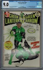 CGC 9.0 GREEN LANTERN #87 1ST APPEARANCE OF JOHN STEWART OW/W PAGES 1971