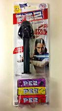 NEW PEZ Dispenser Disney Star Wars DARTH VADER 2x Candy Grape Lemon Top Gift
