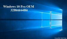 MICROSOFT WINDOWS 10 PRO PROFESSIONAL 32-BIT&64-BIT OEM FULL VERSION FLASH DRIVE