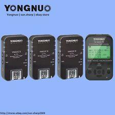 Yongnuo Wireless TTL YN622C-TX+ 3pc YN-622C II  HSS 1/8000 flash trigger