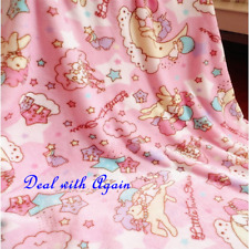 Cute Twin Stars My Melody Soft Warm Flannel Blanket Bed Throw Bedding Plush Gift
