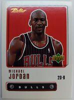 1999 99-00 Upper Deck Retro Michael Jordan #1, Chicago Bulls HOF, The GOAT !