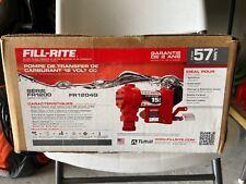 Fill-Rite FR1204G 12V 15GPM (57 LPM) Fuel Transfer Pump