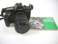 Canon EOS 630 35mm Film Camera w/ Canon 28-70 f3.5-4.5 II EF Lens & manual