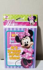 *DISNEY MINNIE MOUSE* 8 INVITATIONS THANK YOU POSTCARDS