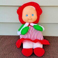 "Vintage Fisher Price Puffalump Girl Christmas Plush 1992 Doll 12"""