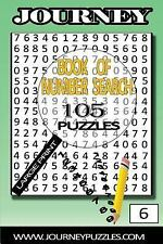Number Search Puzzles: 105 Puzzles in Large 20pt Font (volume 6) by Gregory...