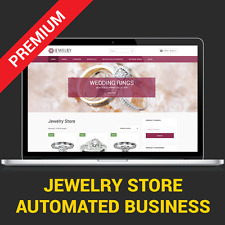 AUTOMATED JEWELRY STORE - AFFILIATE BUSINESS WEBSITE