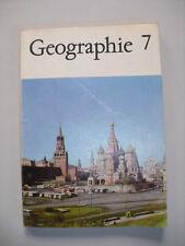 DDR Geographie Lehrbuch Klasse 7 Schulbuch  Sowjetunion Asien 1982
