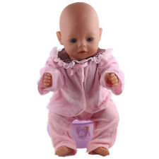 best gift Doll Clothes Wearfor 43cm Baby Born zapf (only sell clothes ) N124