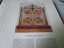 Wien Archiv 9 Wirtschaft 5019 Eiserner Kassenschrank der Stadt Wien 1770