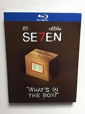 Seven (Blu-ray, 2018) NEW w/What's in the Box slipcover