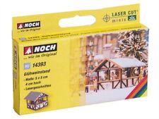 14393 Noch HO, Glühweinstand 5x5x 4 cm hoch, Laser-Cut minis, Modelleisenbahn