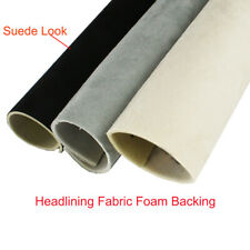SUEDE Headliner Foam Backing Repair/Replacement/Remedy Roof Liner Various Colors
