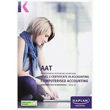 Computerised Accounting - Combined Text and Workbook: Level 2-ExLibrary
