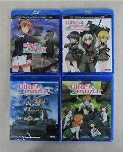 SENTAI FILMWORKS Girls & Panzer Complete TV Series & Film Blu-ray DVD Combo NEW