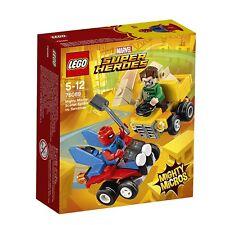 NEW LEGO MARVEL SUPER HEROES MIGHTY MICROS SCARLET SPIDER VS SANDMAN 76089