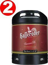 2 x Hasseröder Perfect Draft Premium Pils 6 Liter Fass 4,9 % vol. MEHRWE 4,66€/L