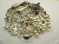 151.5 GRAMS WHOLESALE LOT RESELL STERLING SILVER 925 NEW FINDINGS~  #D
