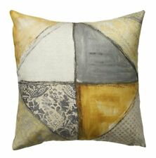 Scatter Box Collage Scatter Cushion, 43 x 43cm, Ochre