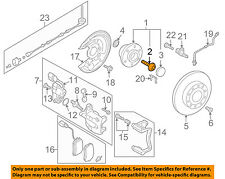VW VOLKSWAGEN OEM 05-18 Jetta Brake-Rear-Hub & Bearing Bolt WHT007150