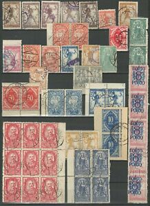 SHS - Chainbreakers 1919/20 ☀ Small Collection of Slovenian cancels