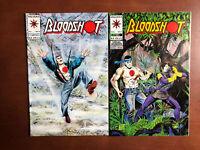 Bloodshot #6 7 (1993)9.4 NM Acclaim Valiant Key Issue Comic Book 1st App Ninjak
