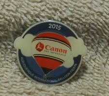 2015 CANON SEE IMPOSSIBLE ALBUQUERQUE INTERNATIONAL BALLOON FIESTA BALLOON PIN
