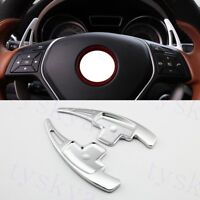 Steering Wheel Shift Paddle Shifter For Benz CLA CLS GLA GLC GLE A B C E S Class