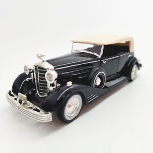 1:32 Vintage Cadillac Fleetwood 1933 Model Car Diecast Vehicle Collection Black