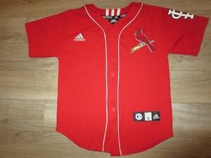 Albert Pujols #5 St. Louis Cardinals adidas mlb Jersey Youth SM 8 children