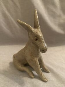 Jugtown Pottery Donkey 1974