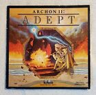 Vintage Atari Computer Game - Archon II: Adept - Floppy Disc with Manual