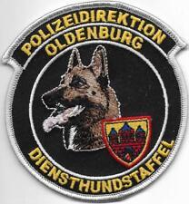 NIEDERSACHSEN Polizei OLDENBURG Diensthundführer STAFFEL K-9 DHF Abzeichen Patch