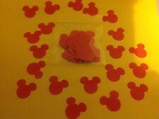 20 x Pack De Rouge Mickey Mouse confettis pour Disney Mariages ou anniversaire