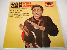 """EP DANYEL GERARD """" LAISSE CRIER TON COEUR (KISSIN'TIME) / JE N'OUBLIERAI JAMAIS"""