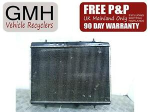 Peugeot 207 Mk1 1.6 Petrol Water Coolant Radiator With Ac 2006-2013↑