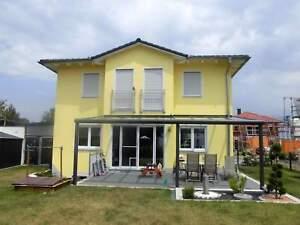 Terrassendach Alu 8 mm VSG matt Terrassenüberdachung 5 m breit Glas Carport