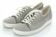 40-40 $160 Women's Sz 39 M Ecco Soft 7 Tie Leather Lace Up Low Top Sneakers