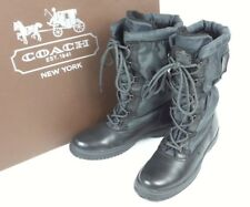 NEW COACH COLD WEATHER BOOT 9B BLACK