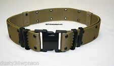 ROTHCO MILITARY STYLE COYOTE BROWN INDIVIDUAL EQUIPMENT PISTOL BELT SIZE MEDIUM