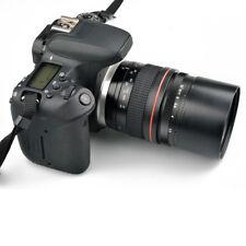 135mm F2.8 Manual Focus Lens Full-frame USM Macro EF Mount Adapter for Canon