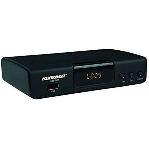 KORAMZI HDTV Digital TV Converter Box ATSC with USB Input for Recording