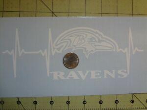 Baltimore Ravens Life car decal