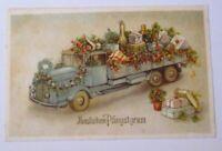 Pfingsten, Lastwagen, Sekt, Geschenke, 1930 ♥ (39289)