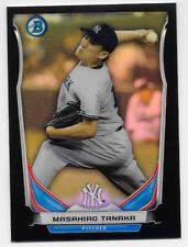 MASAHIRO TANAKA 2014 Topps Bowman Chrome Black Mini refractor  /15 NY Yankees P