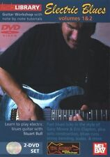 """""""LICK LIBRARY-ELECTRIC BLUES"""" GUITAR VOLUMES 1 & 2 DVD SET-SEALED BRAND NEW SALE"""